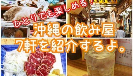 ひとりでも楽しめる!沖縄のおすすめ飲み屋を7軒紹介するよ(・∀・)