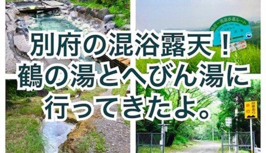 別府の奥の混浴露天!鶴の湯とへびん湯に行ってきたよ。