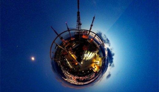 ThetaSで冬の夜を撮影しよう!星空・イルミネーション・画像加工のまとめ。